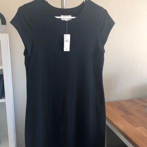 Black Teeshirt dress...Loft Lou and Grey.